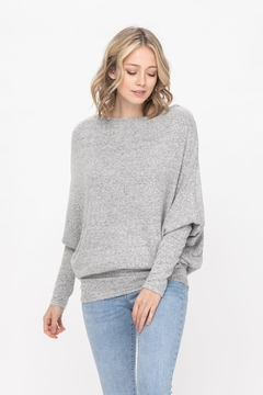 ROLYPOLY Apparel Casual Pullover Dolman Batwing Sweater - Product List Image