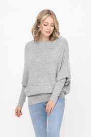 ROLYPOLY Apparel Casual Pullover Dolman Batwing Sweater - Front cropped