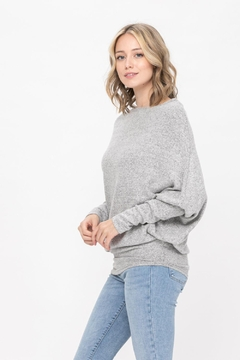 ROLYPOLY Apparel Casual Pullover Dolman Batwing Sweater - Alternate List Image