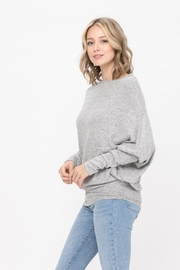 ROLYPOLY Apparel Casual Pullover Dolman Batwing Sweater - Back cropped