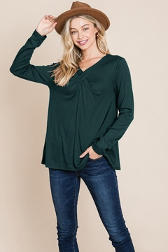 ROLYPOLY Apparel Fold Knotted Twist Sweatshirts - Product List Image