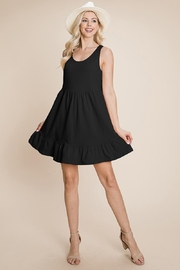 ROLYPOLY Apparel Tiered Cami Loose Layered Flowy Mini Dress - Product Mini Image