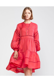 Cynthia Rowley Roma Lace Trim Dress - Product Mini Image