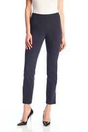 Up! Roma Metal Bar Side Vent Pant - Front cropped