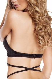 Roma Strappy Rave Top - Front full body