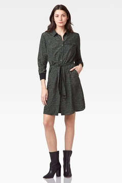 Ecru Roman Belted Shirt Dress - Product List Image