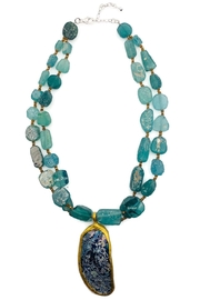 Ananda Chicago Roman Glass Necklace - Product Mini Image