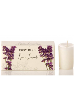 Rosy Rings Roman Lavender- Votive Gift Set - Alternate List Image