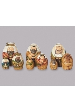 Roman Nativity Nesting Figurines - Alternate List Image