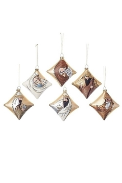 Roman Nativity Ornaments Set/6 - Alternate List Image