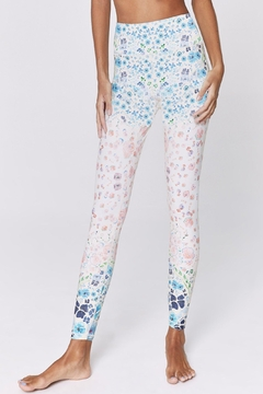 SPIRITUAL GANGSTER Romantic Floral 7/8legging - Alternate List Image