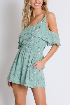 Lyn-Maree's  Romantic Floral Romper - Product List Image