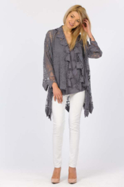 Apparel Love Romantic Lace cardigan - Side cropped
