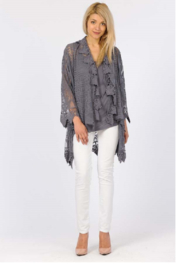Apparel Love Romantic Lace cardigan - Front cropped