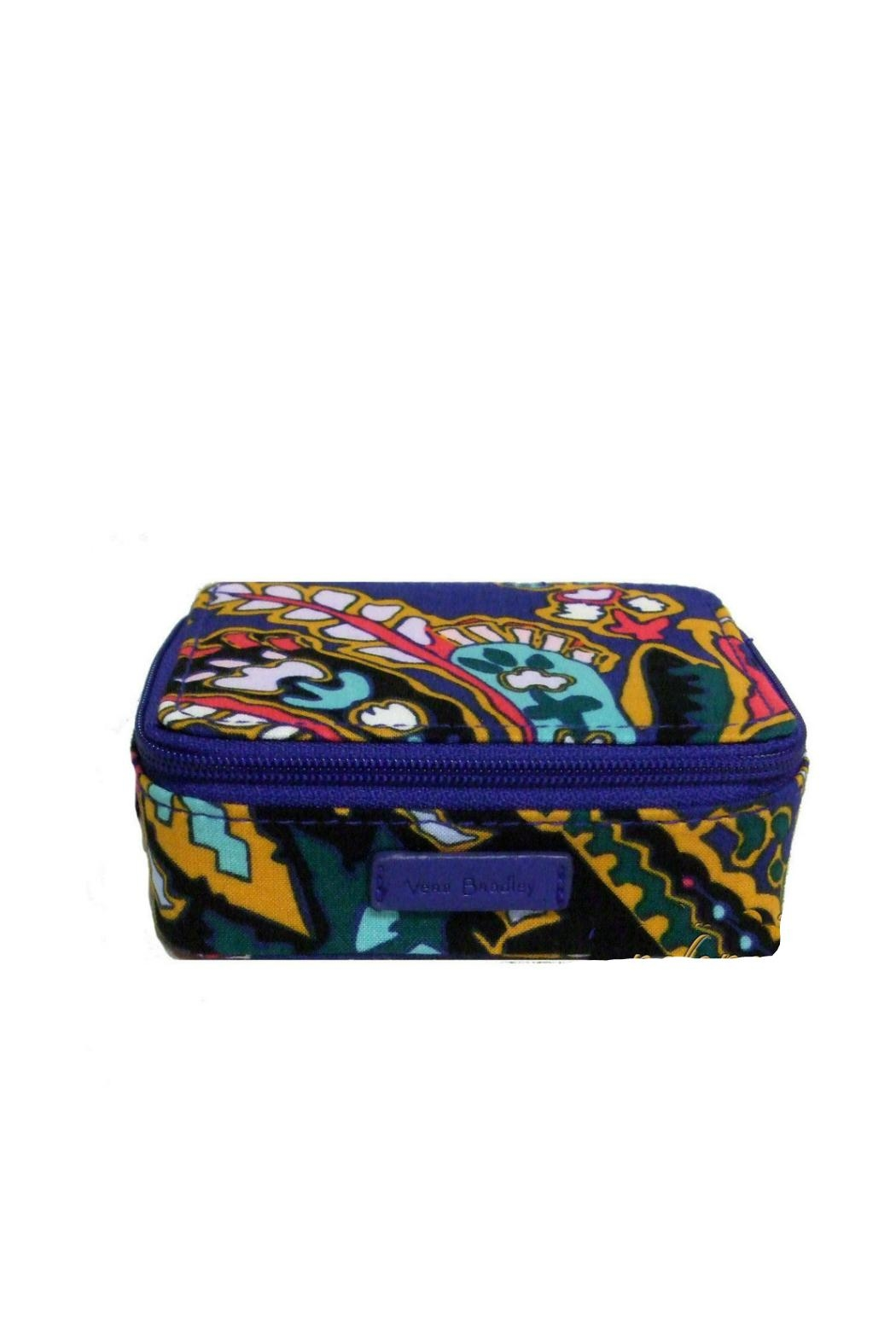 Vera Bradley Romantic Paisley Pill-Case - Front Cropped Image