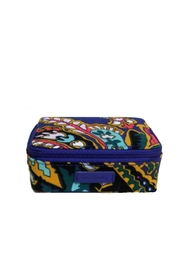 Vera Bradley Romantic Paisley Pill-Case - Front cropped