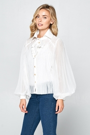 Racine Romantic Silhouette Blouse - Side cropped