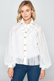 Racine Romantic Silhouette Blouse - Front cropped