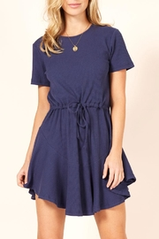 MinkPink Romanticise Drawstring Dress - Product Mini Image