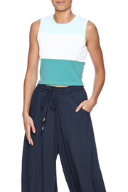 Romeo & Juliet Couture Colorblock Sweater Crop - Product Mini Image