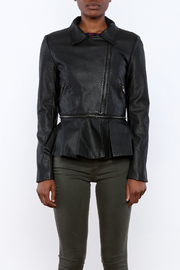 Romeo & Juliet Couture Peplum Jacket - Side cropped