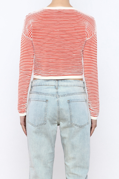 Shoptiques Product: Ribbed Crop Sweater
