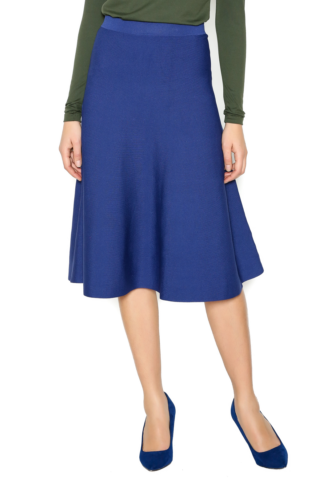 Romeo & Juliet Knit A-Line Skirt from New Jersey by Pink Orchid ...