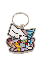 Romero Britto Britto Cat Keychain - Product Mini Image
