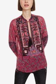 DESIGUAL Romina Glamour Blouse - Front cropped