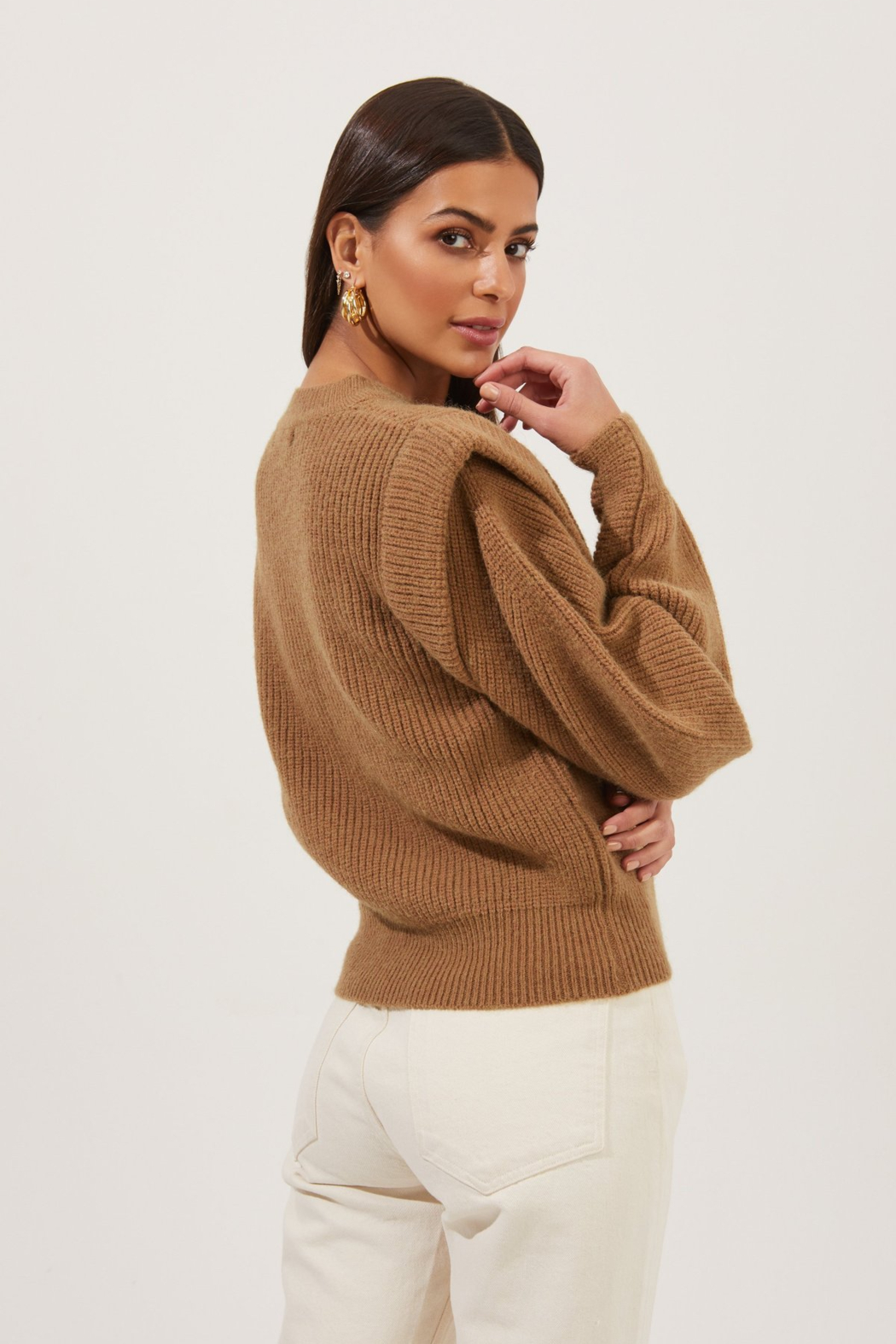 ASTR the Label Romina Sweater - Side Cropped Image