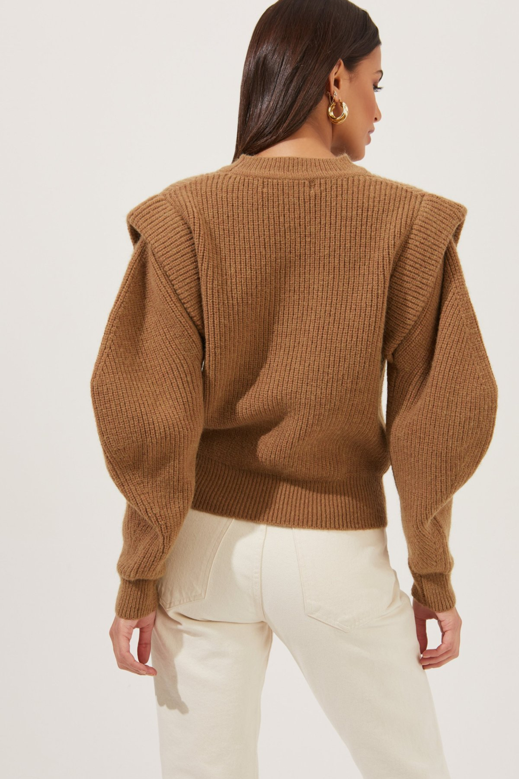 ASTR the Label Romina Sweater - Back Cropped Image