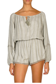 Elan ROMPER WITH DEEP V NCK - Product Mini Image