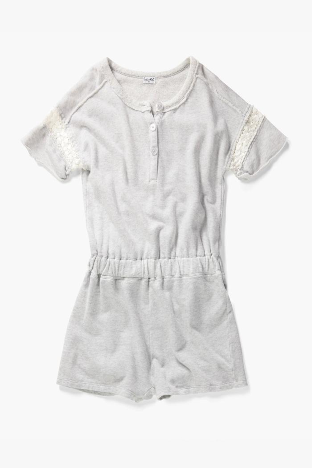Splendid Littles Romper With Lace - Main Image
