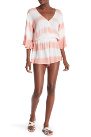 Elan Romper With Striped Tye Dye - Product Mini Image