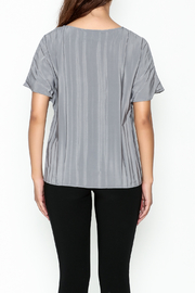Ronen Chen Accordion Top - Back cropped