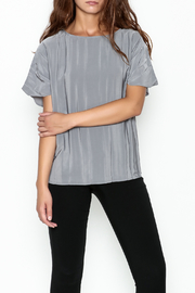 Ronen Chen Accordion Top - Front cropped