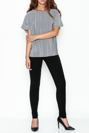 Ronen Chen Accordion Top - Side cropped