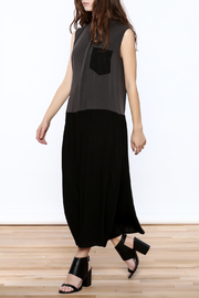 Ronen Chen Two Tone Dress - Front full body