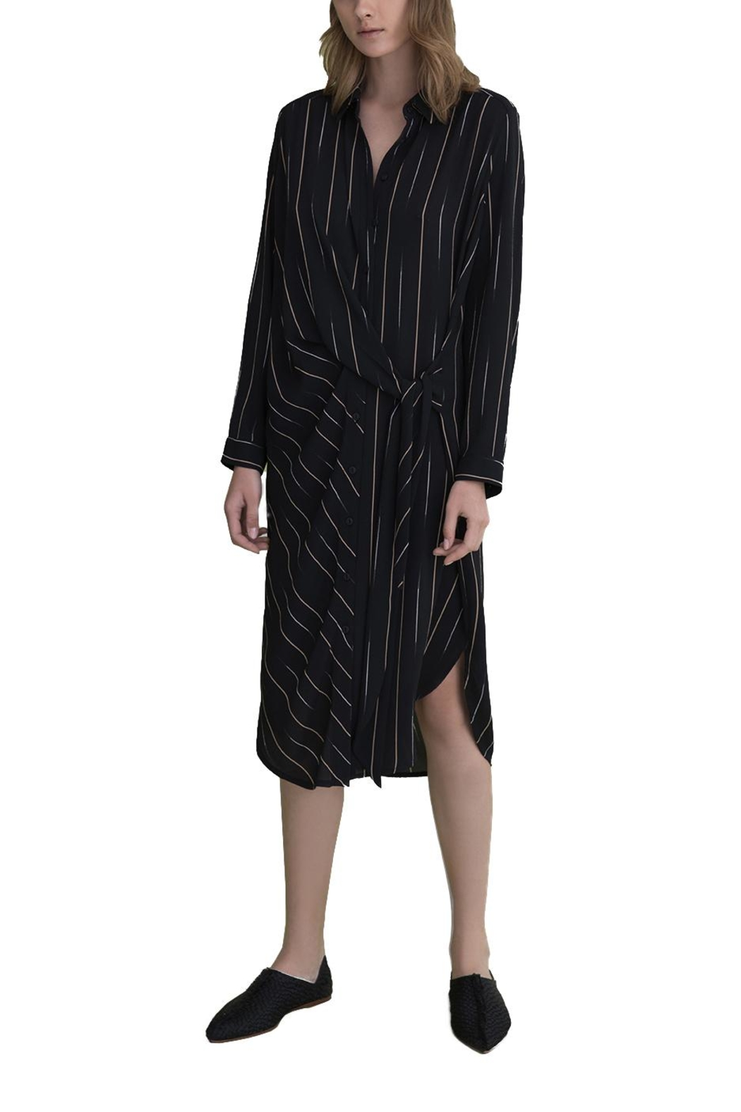Ronen Chen Nola Shirt Dress - Front Cropped Image