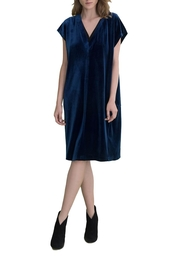 Ronen Chen Velvet Pullover Dress - Product Mini Image