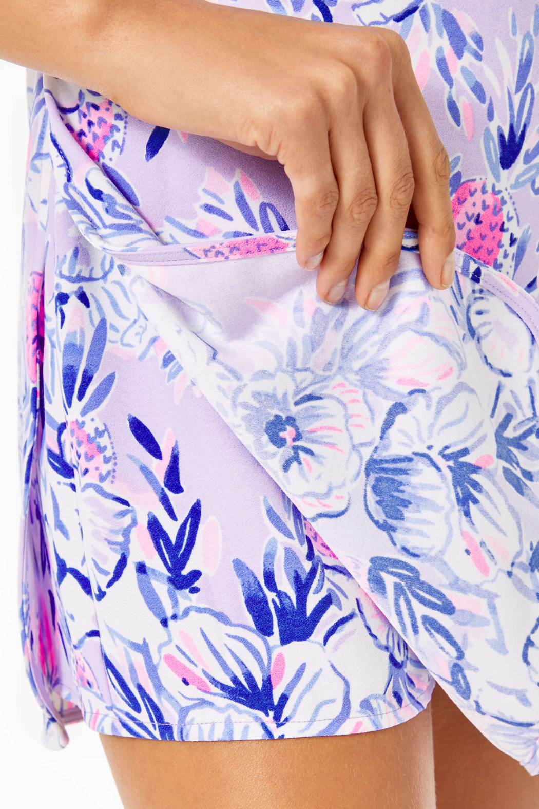 Lilly Pulitzer Ronnie Shift Romper - Back Cropped Image