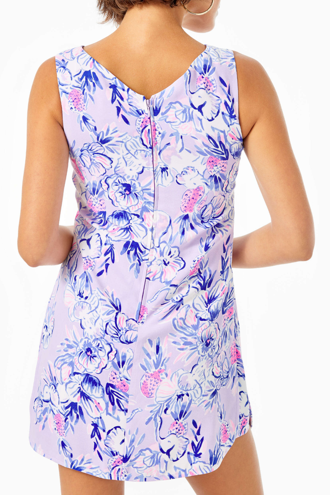 Lilly Pulitzer Ronnie Shift Romper - Front Full Image