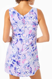 Lilly Pulitzer Ronnie Shift Romper - Front full body