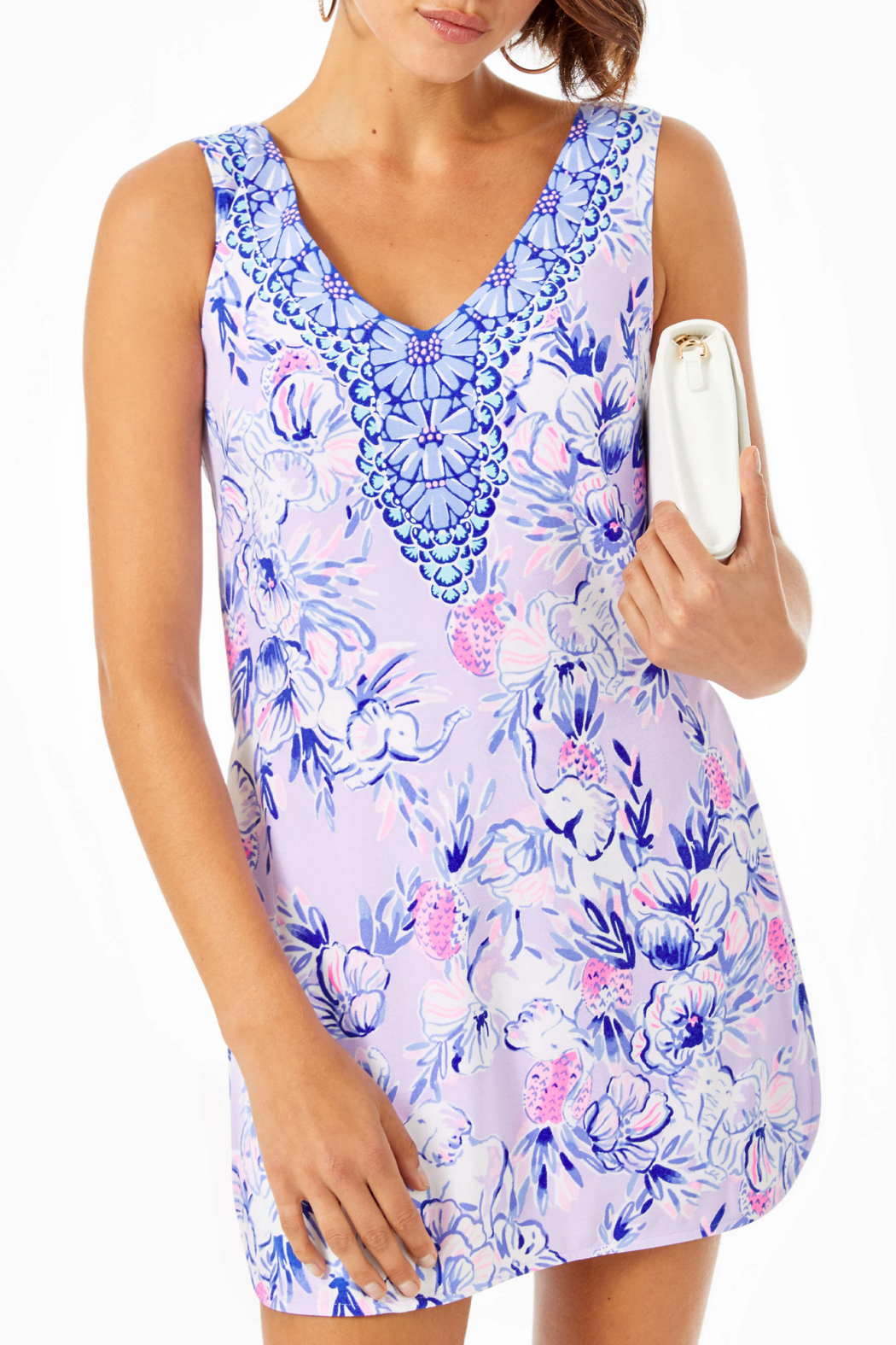 Lilly Pulitzer Ronnie Shift Romper - Main Image