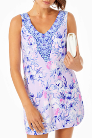 Lilly Pulitzer Ronnie Shift Romper - Front cropped