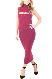 Ronny Kobo Jerica Rib Knit Dress - Product Mini Image