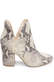 Steve Madden Rookie Snake Print Bootie - Product Mini Image