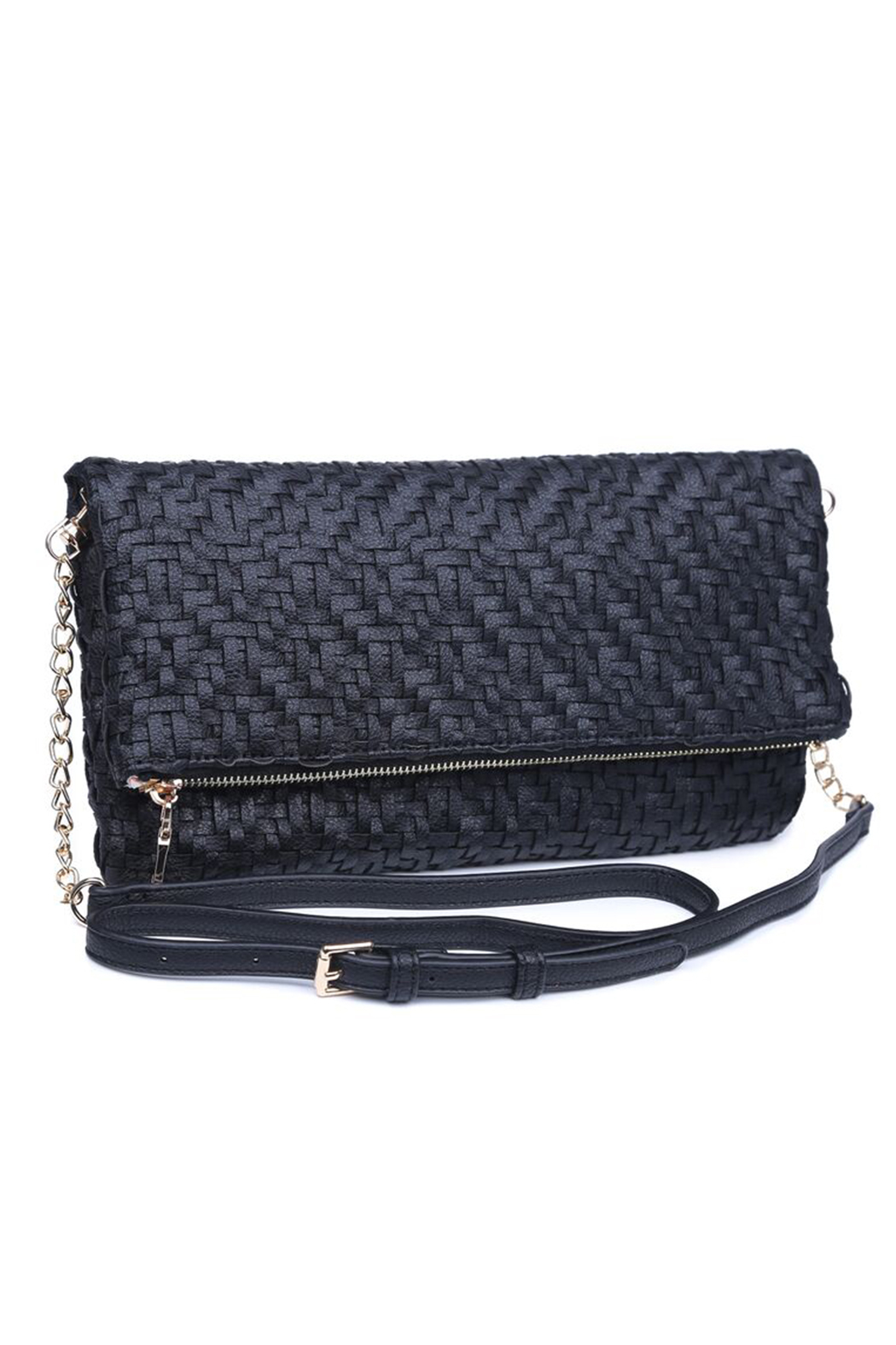 Urban Expressions Rooney Clutch with Adjustable C/B Strap - Front Full Image