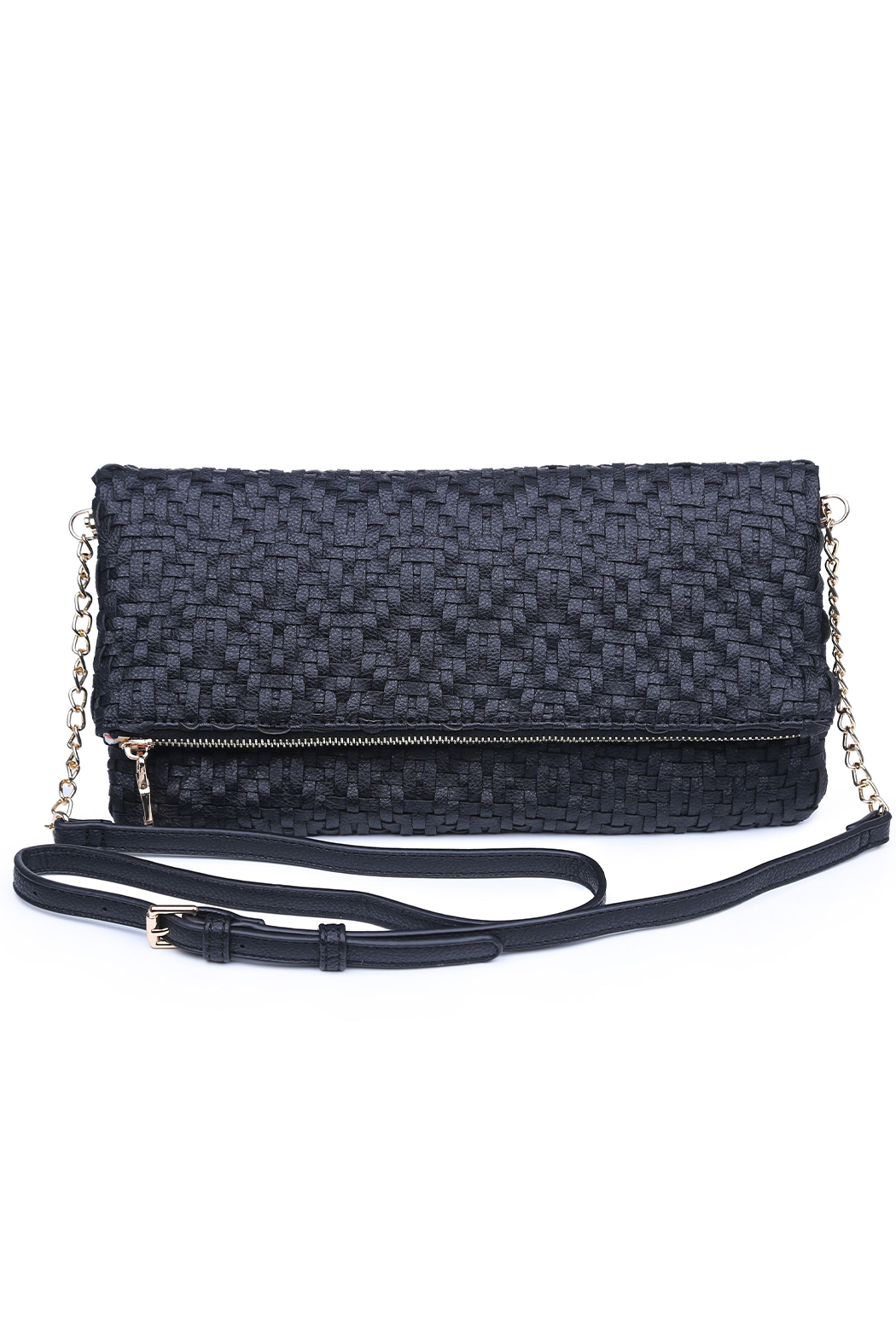 Urban Expressions Rooney Clutch with Adjustable C/B Strap - Front Cropped Image