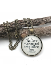Never Lose Hope Designs Roosevelt Quote Necklace - Product Mini Image